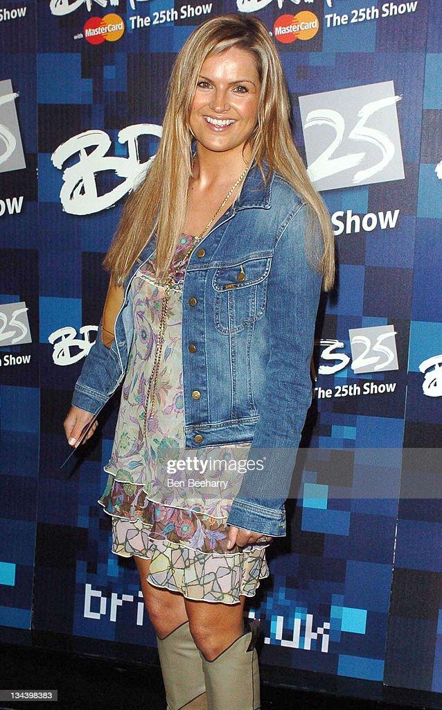 BRIT Awards 2005 - Nominations - Arrivals : News Photo