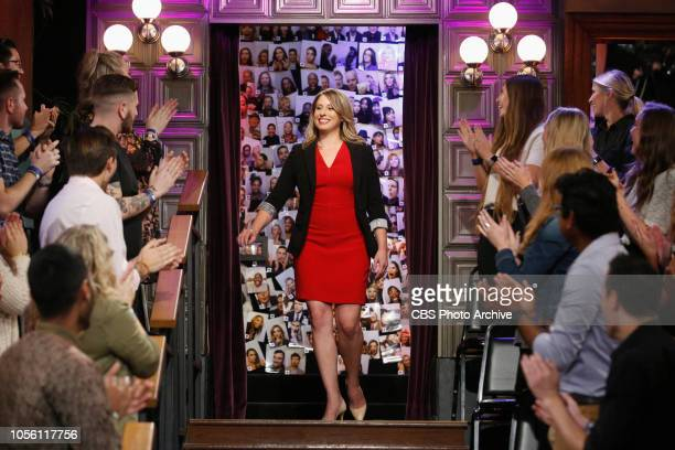 Katie Hill on The Late Late Show with James Corden airing Tuesday October 30 2018