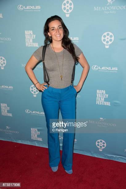 Katie Hilliard attends the Festival Gala at CIA at Copia during ithe 7th Annual Napa Valley Film Festival on November 11 2017 in Napa California