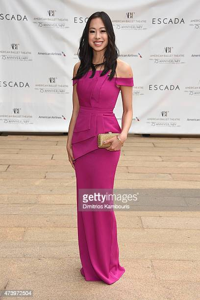 Katie Ho attends the American Ballet Theatre's 75th Anniversary Diamond Jubilee Spring Gala at The Metropolitan Opera House on May 18 2015 in New...