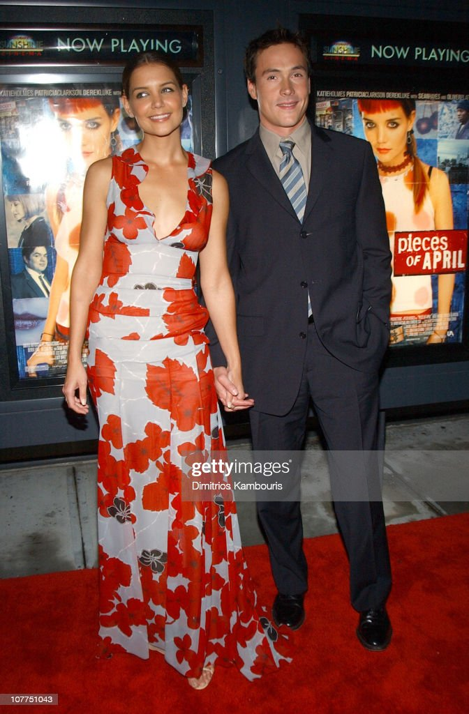 Katie Holmes and Chris Klein during 'Pieces of April' - New York City Premiere at Landmark's Sunshine Theater in New York City, New York, United States.