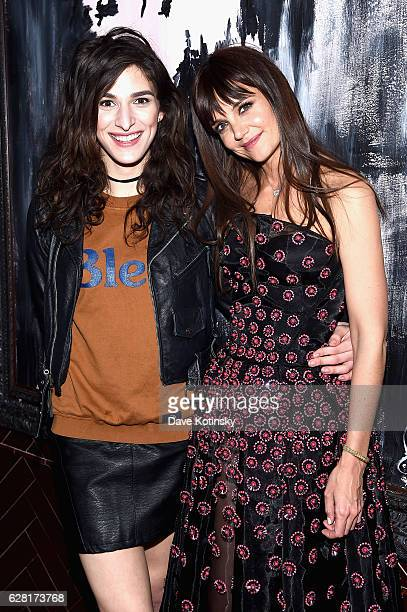 Katie Holmes and Eve Lindley attend The Cinema Society Ruffino Host A screening Of All We Had After Party at Jimmy At The James Hotel on December 6...