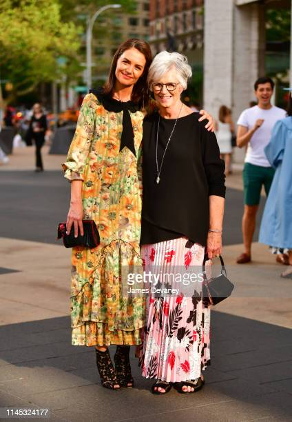 Katie Holmes and Kathleen Holmes arrive to the American Ballet Theatre 2019 Spring Gala at The Metropolitan Opera House on May 20 2019 in New York...