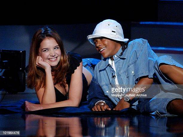 Katie Holmes and Lil' Bow Wow