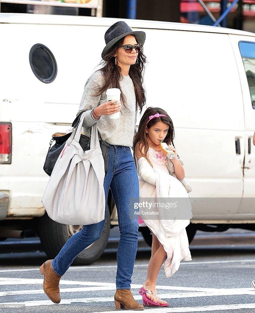 Celebrity Sightings In New York City - September 6, 2013 : News Photo
