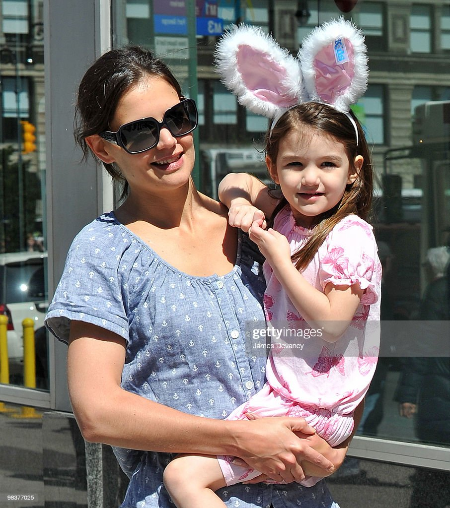 Celebrity Sightings In New York City - April 10, 2010