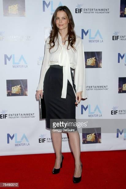 Katie Holmes at the 20th Century Fox Studios in Los Angeles California
