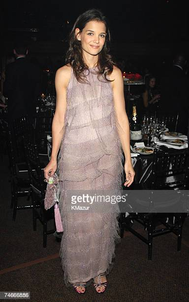 Katie Holmes at the Hammerstein Ballroom in New York City New York