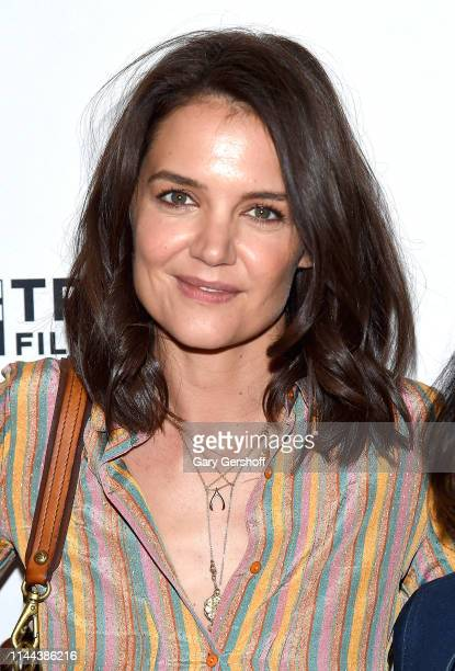 Katie Holmes attends 'AtT Presents Untold Stories Luncheon' at Thalassa on April 22 2019 in New York City
