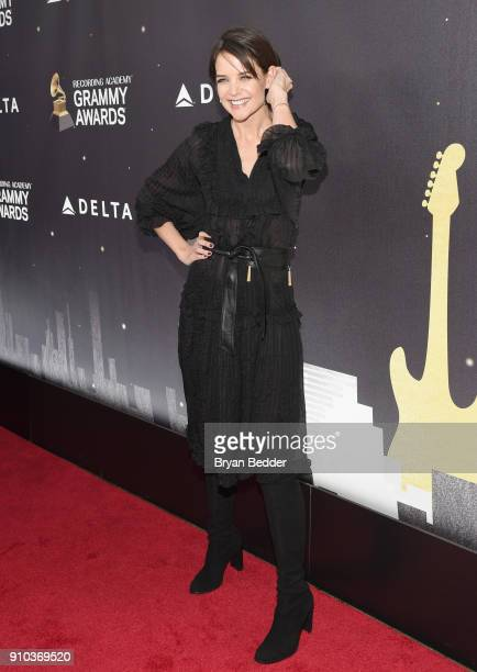 Katie Holmes attends Delta Air Lines the Official Airline Partner of the GRAMMY Awards® and Supporter of FirstTime Nominees hosted a private...