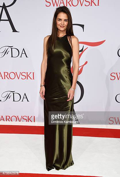 Katie Holmes attends the 2015 CFDA Fashion Awards at Alice Tully Hall at Lincoln Center on June 1, 2015 in New York City.