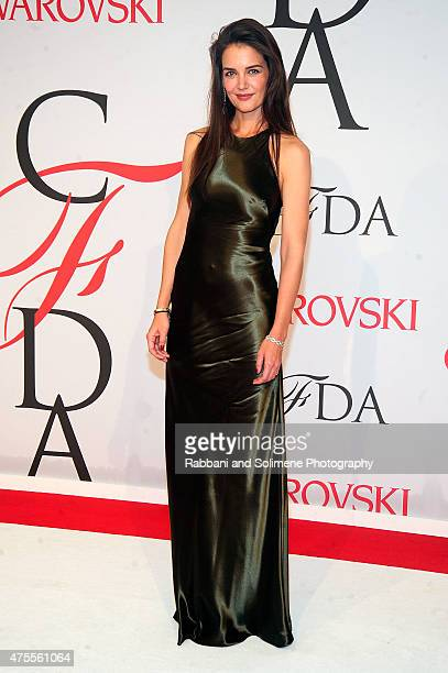 Katie Holmes attends the 2015 CFDA Fashion Awards at Alice Tully Hall at Lincoln Center on June 1 2015 in New York City