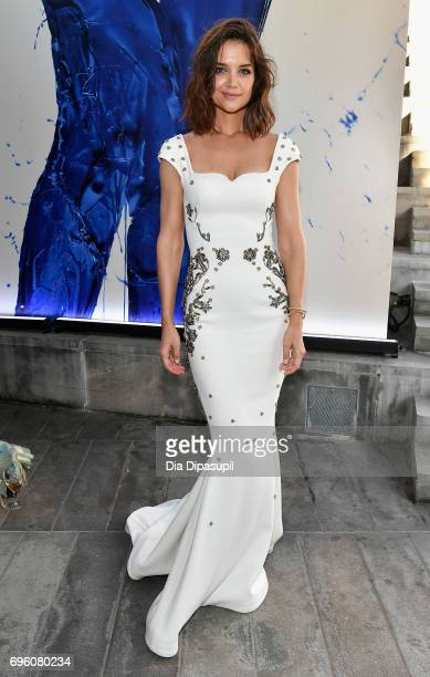 Katie Holmes attends the 2017 Fragrance Foundation Awards Presented By Hearst Magazines at Alice Tully Hall on June 14 2017 in New York City