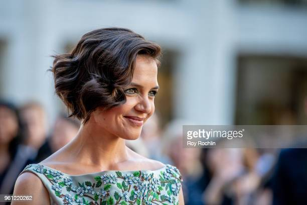 Katie Holmes attends the 2018 American Ballet Theatre Spring Gala at The Metropolitan Opera House on May 21 2018 in New York City