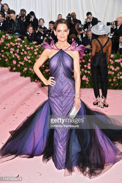 Katie Holmes attends The 2019 Met Gala Celebrating Camp: Notes on Fashion at Metropolitan Museum of Art on May 06, 2019 in New York City.