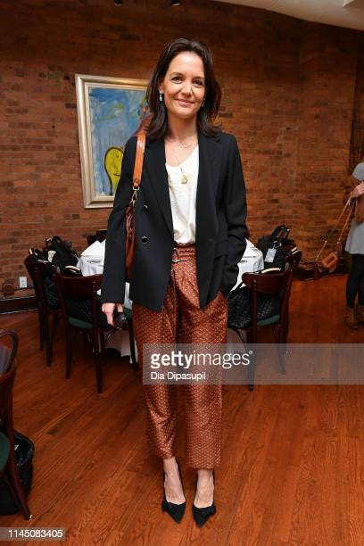Katie Holmes attends the 2019 Tribeca Film Festival Jury Lunch at Tribeca Grill Loft on April 25 2019 in New York City