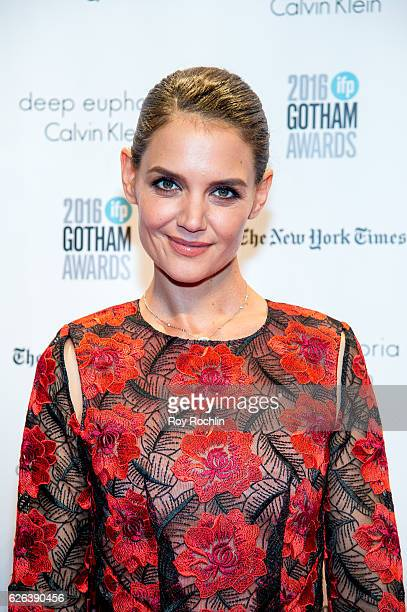 Katie Holmes attends the 26th Annual Gotham Independent Film Awards at Cipriani Wall Street on November 28 2016 in New York City