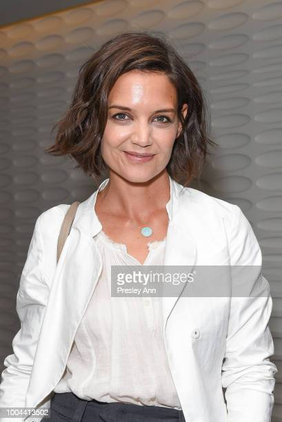 Katie Holmes attends the after party for Sony Pictures Classics' premiere of The Wife on July 23 2018 in West Hollywood California