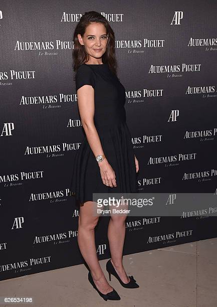 Katie Holmes attends the Audemars Piguet Art Commission Presents 'Reconstruction of the Universe' By Sun Xun on November 29 2016 in Miami Beach...
