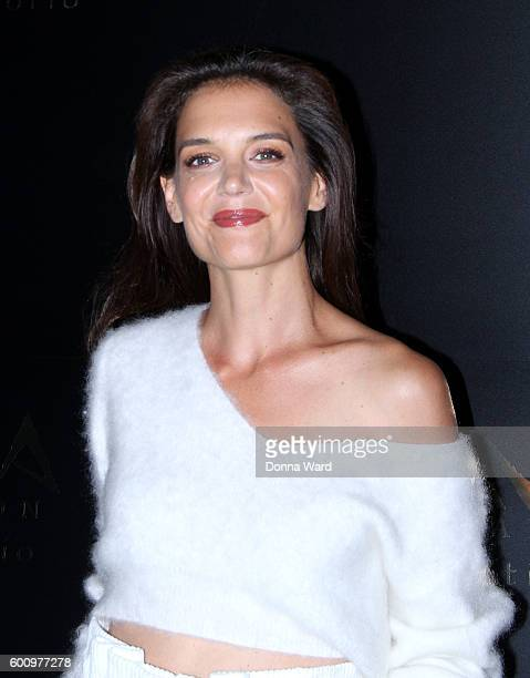 Katie Holmes attends the Avra Madison grand opening on September 8 2016 in New York City