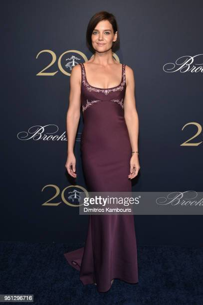 Katie Holmes attends the Brooks Brothers Bicentennial Celebration at Jazz at Lincoln Center on April 25 2018 in New York City