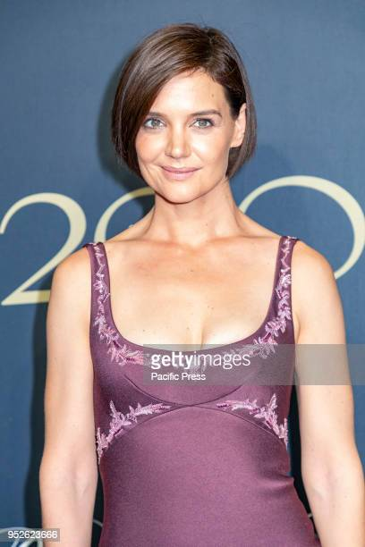 Katie Holmes attends the Brooks Brothers Bicentennial Celebration at Jazz At Lincoln Center Manhattan