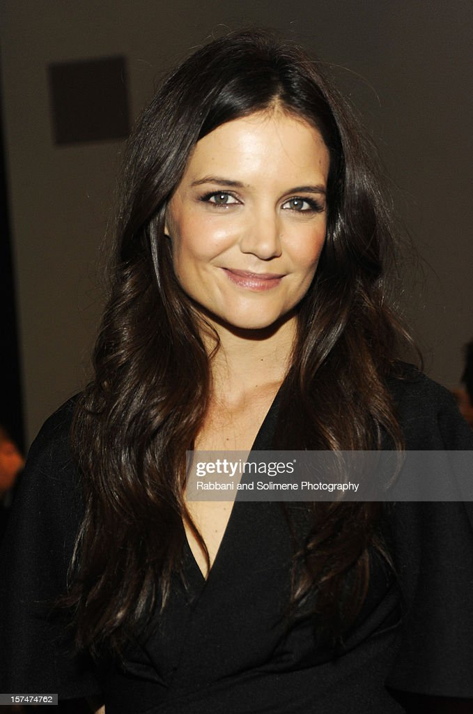 Katie Holmes attends The Museum of Modern Art 5th annual Film Benefit honoring Quentin Tarantino at MOMA on December 3, 2012 in New York City.