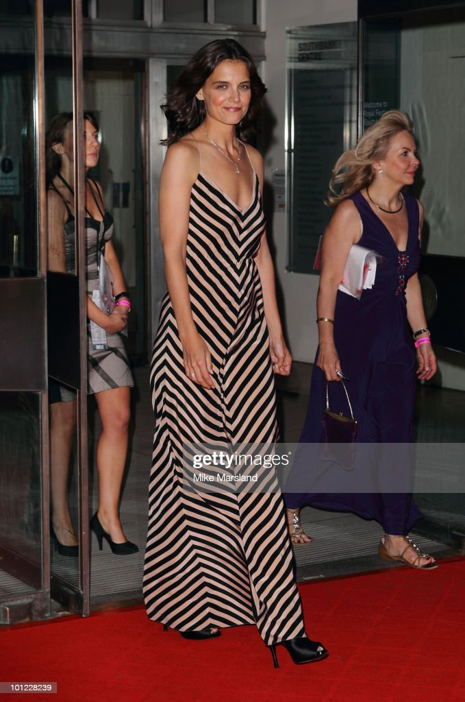Katie Holmes attends the National Movie Awards 2010 at the Royal Festival Hall on May 26, 2010 in London, England.