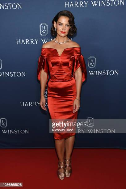 Katie Holmes attends the New York Collection by Harry Winston at The Rainbow Room on September 20 2018 in New York City