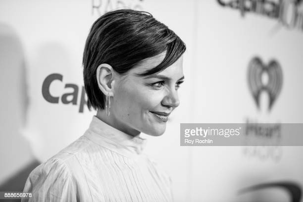 Katie Holmes attends Z100's iHeartRadio Jingle Ball 2017 at Madison Square Garden on December 8 2017 in New York City