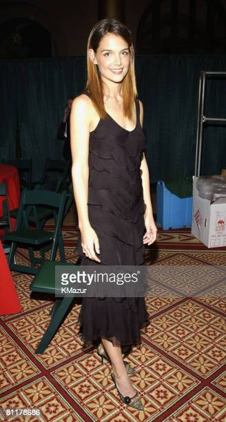 Katie Holmes backstage at TNT's Christmas in Washington Concert to air Sunday December 15 at 8pm ET/PT live from the National Building Museum in...