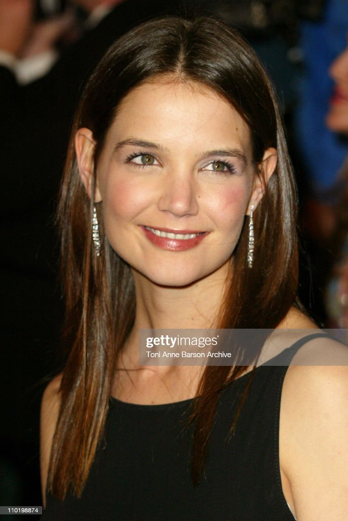 Katie Holmes during 2004 Vanity Fair Oscar Party - Arrivals at Mortons in Beverly Hills, California, United States.