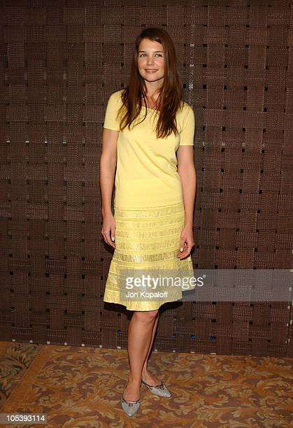 Katie Holmes during In Style Magazine and the DIC Host Luncheon to Celebrate the 2005 Awards Season at Beverly Hills Hotel in Beverly Hills...