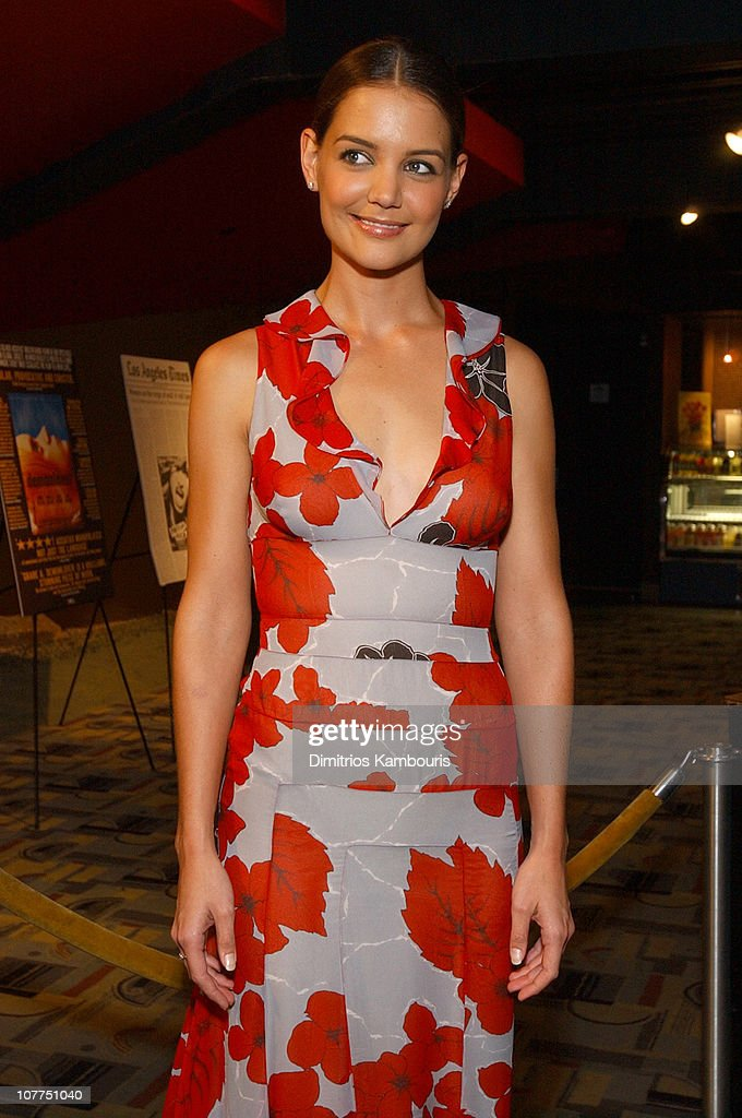Katie Holmes during 'Pieces of April' - New York City Premiere at Landmark's Sunshine Theater in New York City, New York, United States.