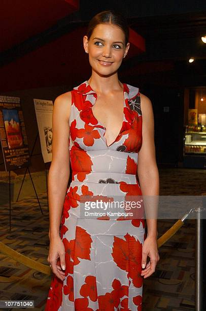 Katie Holmes during 'Pieces of April' New York City Premiere at Landmark's Sunshine Theater in New York City New York United States