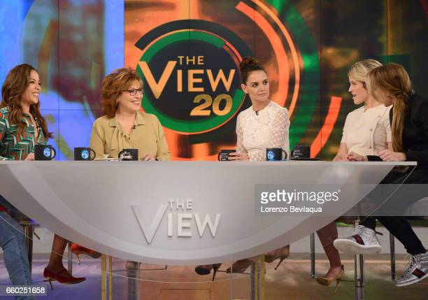 THE VIEW Katie Holmes is a guest Wednesday March 29 2017 on Walt Disney Television via Getty Images's The View The View airs MondayFriday on the Walt...