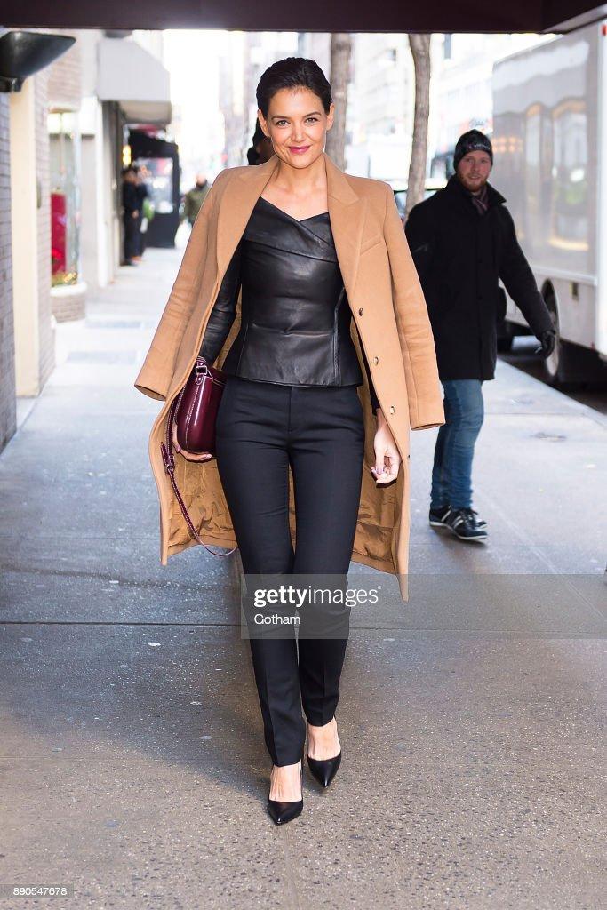 Celebrity Sightings in New York City - December 11, 2017 : Fotografía de noticias