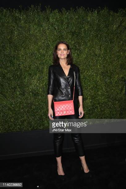 Katie Holmes is seen on April 29 2019 in New York City