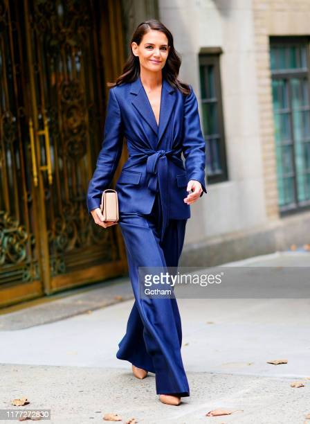 Katie Holmes is seen on September 26, 2019 in New York City.