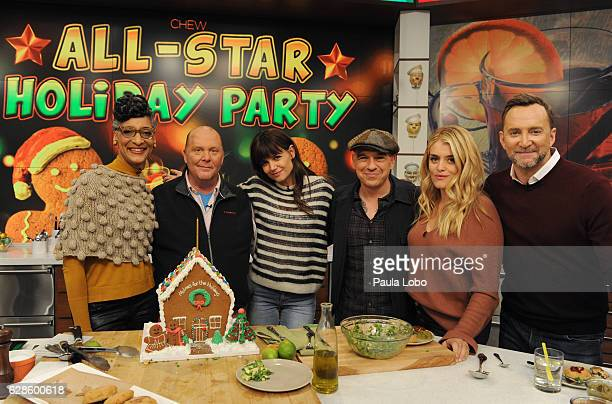 THE CHEW Katie Holmes is the guest Friday December 9 2016 on ABC's 'The Chew' 'The Chew' airs MONDAY FRIDAY on the ABC Television Network KELLY