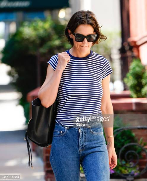 Katie Holmes on June 29, 2018 in New York City.
