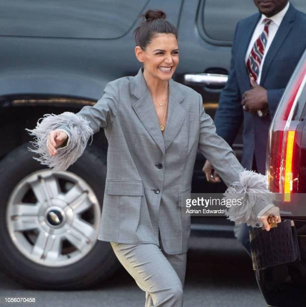 Katie Holmes seen on October 17 2018 in New York City