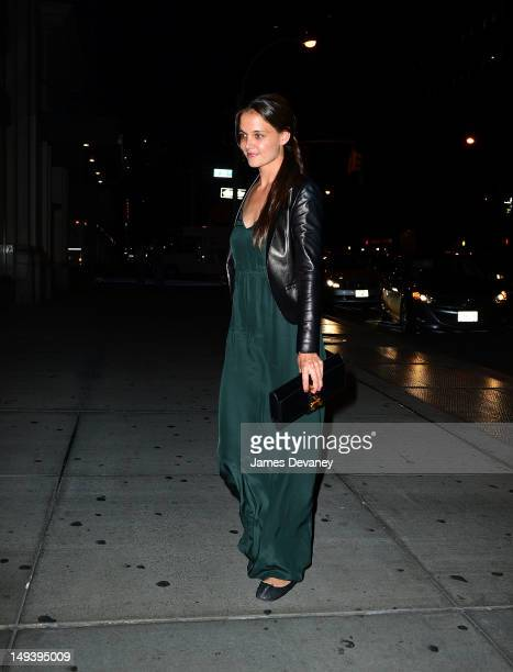 Katie Holmes seen on the streets of Manhattan on July 27 2012 in New York City