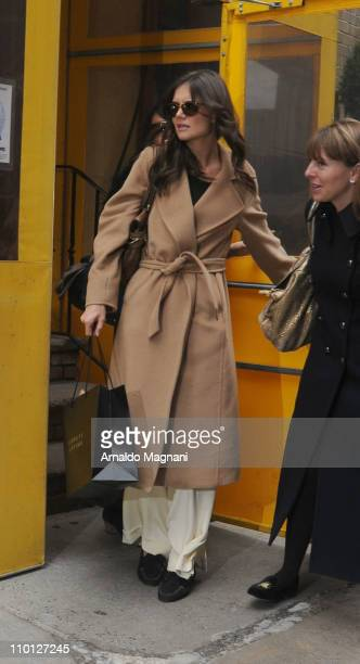 Katie Holmes sighting on March 15 2011 in New York City