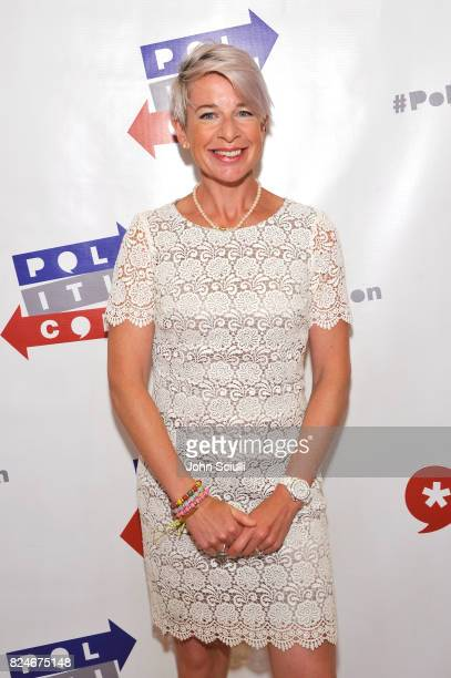 Katie Hopkins at Politicon at Pasadena Convention Center on July 30, 2017 in Pasadena, California.