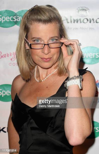 Katie Hopkins attends the Specsavers Spectacle Wearer Of The Year 2009 Grand Final at Victoria Albert Museum on October 27 2009 in London England