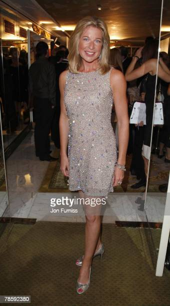 Katie Hopkins attends the TV Quick and TV Choice Awards at the Dorchester Hotel on September 03 2007 in London