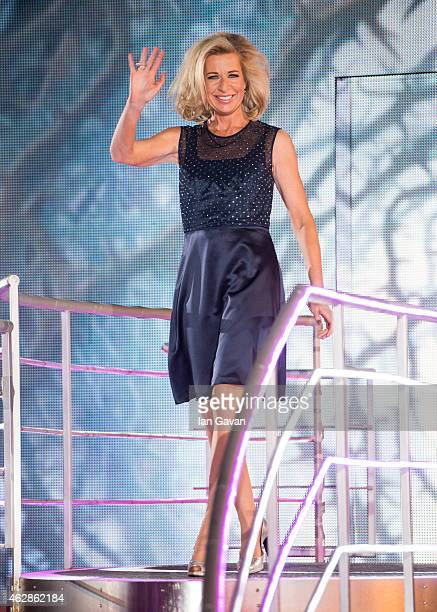 Katie Hopkins is evicted from the Big Brother house at Elstree Studios on February 6 2015 in Borehamwood England