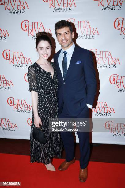 Katie Huff and Tony Yazbeck during the The 2nd Annual Chita Rivera Awards Honoring Carmen De Lavallade John Kander And Harold Prince at NYU Skirball...