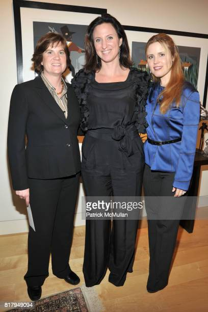 Katie Hush Janeen Saltman and Christine Corcoran attend Laura and Richard Parsons Host the Celebration of The AMERICAN FOLK MUSEUM'S Advocates for...